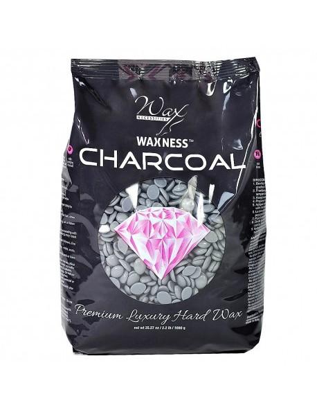 Charcoal Hard Wax Beads 2.2 LBS / 35.27 OZ
