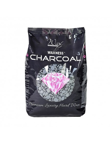 CHARCOAL PREMIUM LUXURY HARD WAX 1.1 LB / 17.63 OZ