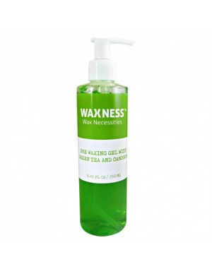 PRE WAXING GEL WITH GREEN...