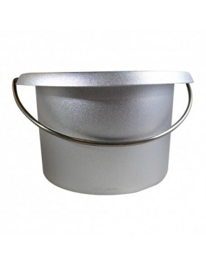 EMPTY METAL POT FOR WAX...