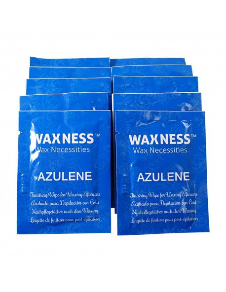 Wax at Home Azulene After Waxing Finishing Wipes Pack of 10