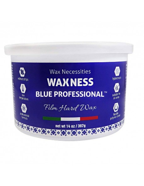 Blue Professional Hard Wax Tin - 14oz. / 397g.