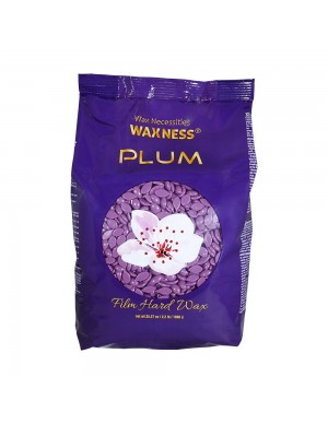 Plum Hard Wax Beads 2.2 LBS...