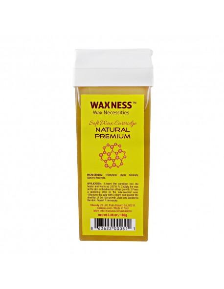 Natural Premium Soft Wax Cartridge 3.38 oz / 100 g