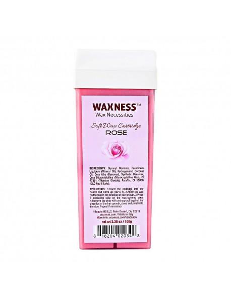Rose Soft Wax Cartridge 3.38 oz / 100 g