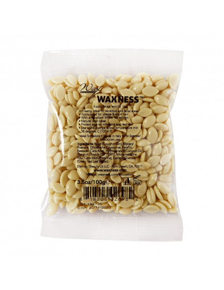 White Tea Cream Film Hard Wax Sample 3.5 oz / 100 g