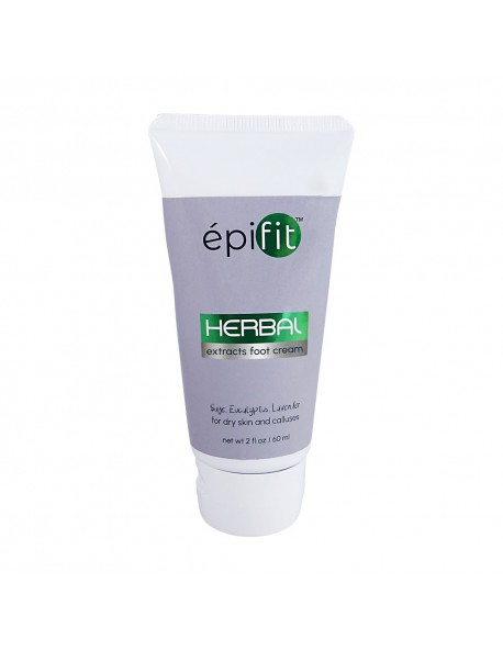 EPIFIT NATURAL FOOT CREAM FOR DRY SKIN AND CALLUSES WITH SEAWEED, SAGE AND EUCALYPTUS 2 FL OZ