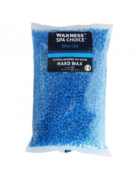 SPA CHOICE NO ROSIN BLUE GEL HARD WAX BEADS WITH MARINE SALTS 2.2 LB / 1 KG