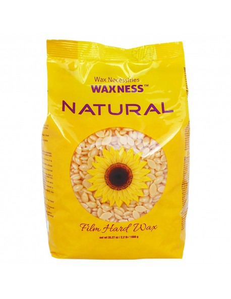 Natural Hard Wax Beads 2.2 LBS / 35.27 OZ