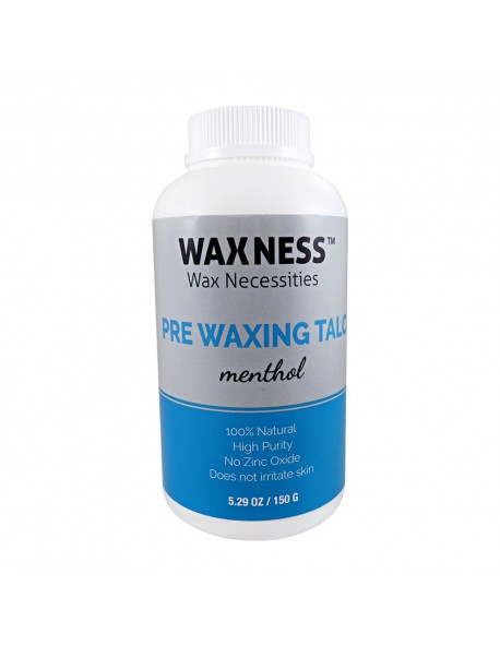 PRE WAXING COSMETIC TALC MENTHOL 5.29 OZ / 150 G