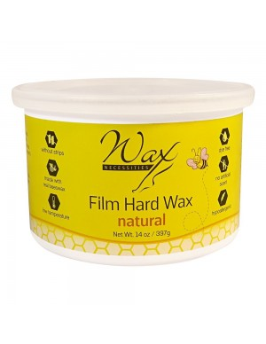 Natural Hard Wax Tin 14 oz...