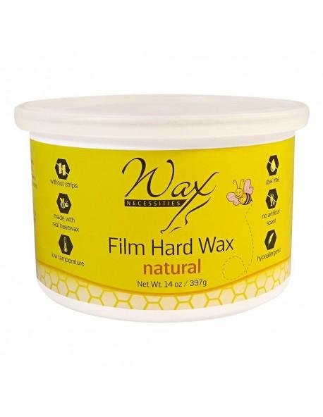 Natural Hard Wax Tin 14 oz / 397 g