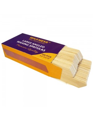 BODY WAXING WOODEN ANGLED...