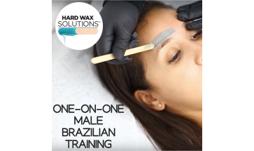 ONE-ON-ONE MALE BRAZILIAN HARD WAX TRAINING- $250 PER PERSON