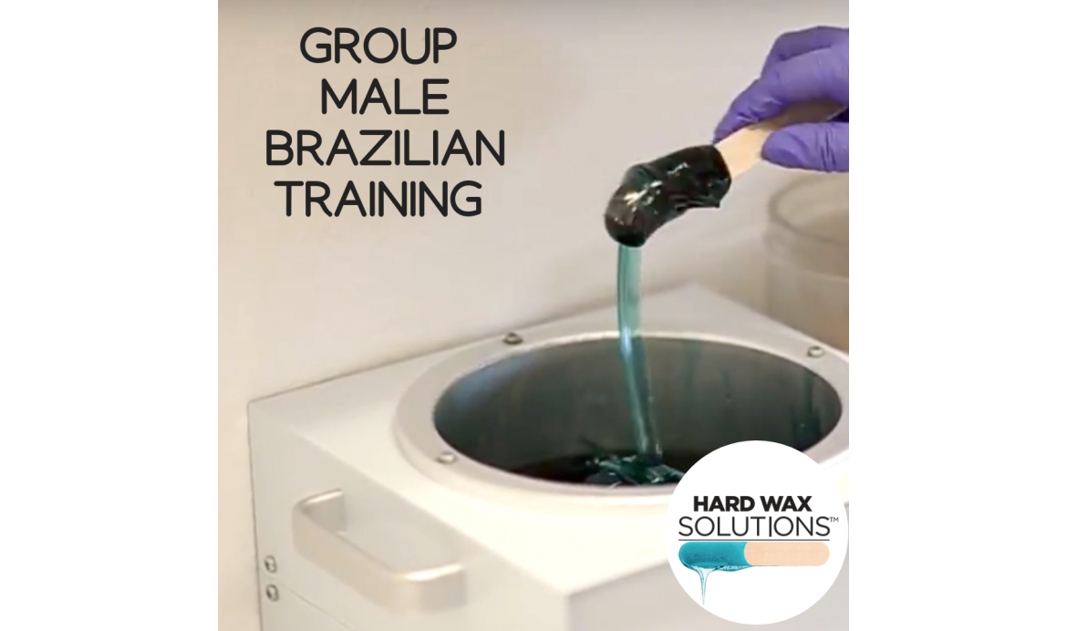 GROUP HARD WAX MALE BRAZILIAN - HANDS ON - $175 PER PERSON